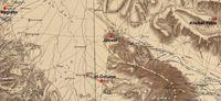 © Erasmus Gaß (auf Basis der Karte des Palestine Exploration Fund).