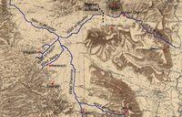 © Erasmus Gaß auf Basis der Karte des Palestine Exploration Fund