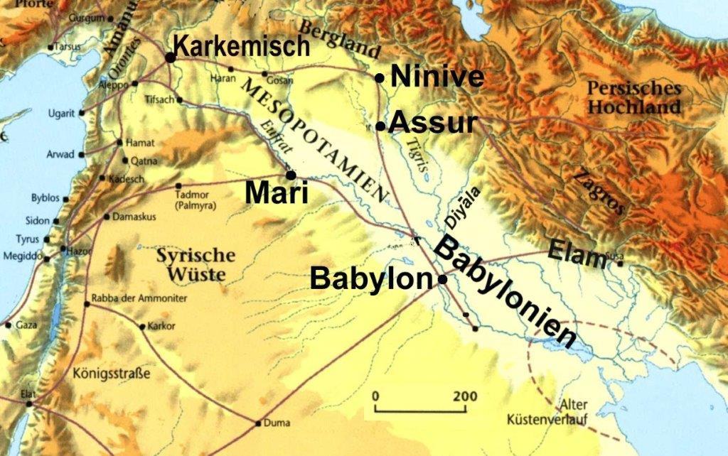 oberster gott assyriens