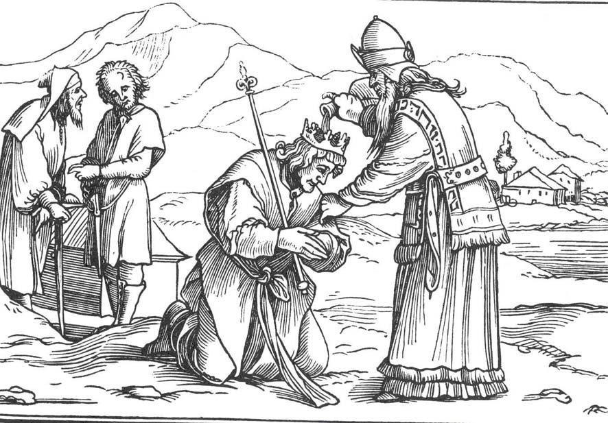 abb 1 samuel salbt saul in rama 1sam 10 holbein 16 - Knig David Lebenslauf
