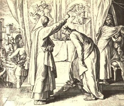 abb 2 nathan und david schnorr von carolsfeld 1851 1860 - Knig David Lebenslauf