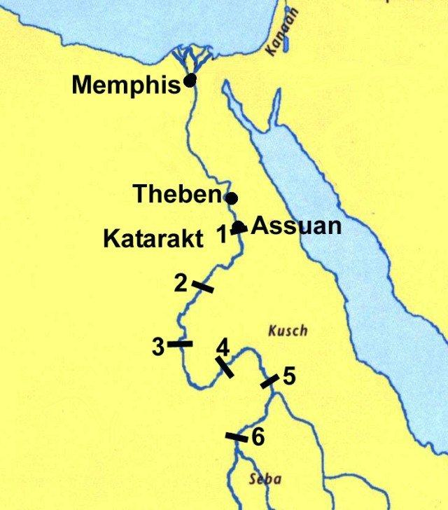 Karte ägypten Nil.Lexikon Bibelwissenschaft De