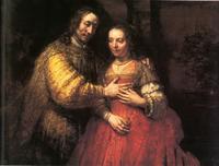 Abb. 1 Isaak und Rebekka (Rembrandt; 1668).