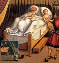 Abb. 11 Das 9. Gebot (Gemälde von Lucas Cranach; Detail von Abb. 2).