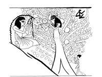 Aus: U. Winter, Frau und Göttin. Exegetische und ikonographische Studien zum weiblichen Gottesbild im Alten Israel und in dessen Umwelt (OBO 53), Freiburg (Schweiz) / Göttingen 1983, Abb. 462; © Stiftung BIBEL+ORIENT, Freiburg / Schweiz