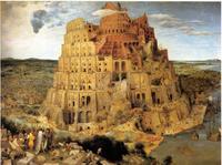 Abb. 3 Der Turmbau zu Babel (Peter Bruegel d. Ä.; 1563).