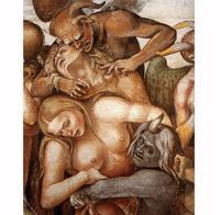 Abb. 5 Die Verdammten (Detail; Luca Signorelli; 1499-1502).