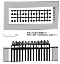 © Zeichnung Erasmus Gaß nach Stade, 319-320