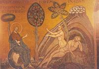 Abb. 2 Die Erschaffung Evas (Basilika von Monreale auf Sizilien; 12. Jh.).