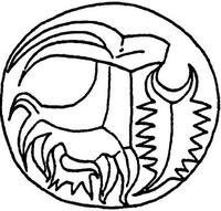 Aus: O. Keel / Chr. Uehlinger, Götter, Göttinnen und Gottessymbole (QD 134), Freiburg, 5. Aufl. 2001, Abb. 175a; © Stiftung BIBEL+ORIENT, Freiburg / Schweiz