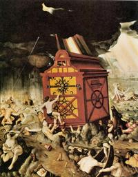 Abb. 2 Die Flut (Hans Baldung; 1516).