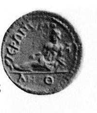Abbildung: H. v. Aulock, Münzen und Städte Phrygiens II, Tübingen 1987, Wasmuth Verlag, Nr. 448, Tafel 15, mit freundlicher Genehmigung des Wasmuth Verlags.