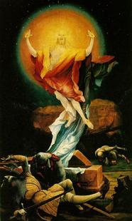 Abb. 2 Auferstehung Christi (Matthias Grünewald; um 1510).