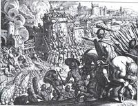 Abb. 2 Die Zerstörung Jerusalems (2Kön 25; Matthäus Merian d. Ä.; 17. Jh.).