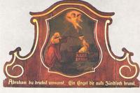 """Abb. 11 Opferung Isaaks (Gemälde von """"Pater Apotheker""""; 1710)."""