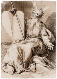 Abb. 10 Der gehörnte Mose (Abraham Bloemaert; 17. Jh.).