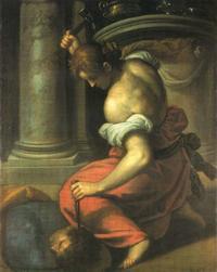Abb. 3 Jael und Sisera (Jacopo Palma der Jüngere; 1548-1628).