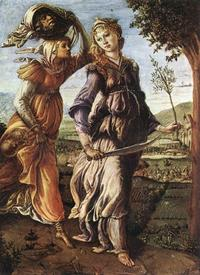 Abb. 10 Rückkehr nach Betulia (Sandro Botticelli; um 1470).