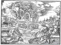 Abb. 7 Himmelfahrt Elias (Lutherbibel 1534).