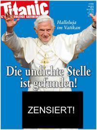 Schmitt, Oliver Maria, Burmeier/Hintner, dpa, Pflichtblatt für den Heiligen Stuhl, in: Titanic (2012) 7, http://www.titanic-magazin.de/heft/2012/juli/; abgerufen am 30.09.16