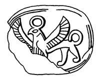 Aus: O. Keel / Chr. Uehlinger, Götter, Göttinnen und Gottessymbole (QD 134), Freiburg, 5. Aufl. 2001, Abb. 251; © Stiftung BIBEL+ORIENT, Freiburg / Schweiz