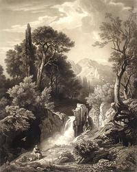 Abb. 1 Elia am Bach Kerit (Johann Wilhelm Schirmer, 1807-1863).