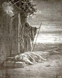 Abb. 8 Die Schandtat von Gibea (Gustave Doré; 1865).