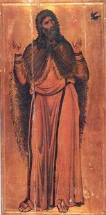 Abb. 6 Elia (Ikone im Sinai Kloster; 12. Jh.).