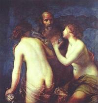 Abb. 2 Lot und seine Töchter (Francesco Furini; 1640).