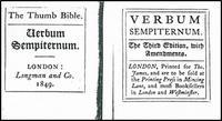 Abb. 1 Titelblatt John Taylor, Verbum Sempiternum, London 1849. Wiedergabe nach Adomeit, 1980, 263.