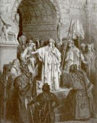 Abb. 1 Königin Waschti (Gustave Doré; 1865).