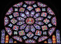 Abb. 1 Die Zwölf Propheten (Nordrose der Kathedrale in Chartres; 13. Jh.).