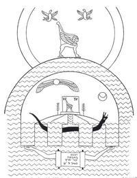 Aus: O. Keel, Das sogenannte altorientalische Weltbild, BiKi 40, 1985, 157-161, 161 Abb. 14