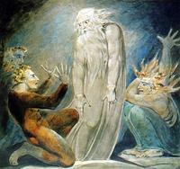 Abb. 2 Die Hexe von En-Dor (William Blake, um 1800).