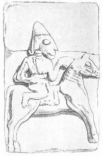 Aus: von Luschan 1902, Taf. 34d