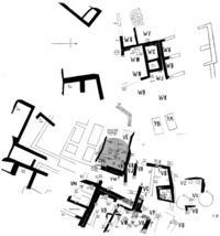 Aus: E. Macdonald / J.L. Starkey / L. Harding, Beth-Pelet II. Prehistoric Fara. Beth-Pelet Cemetery (BSAE 52), London 1932, Taf. LXXI (mit Markierung durch Verf.)