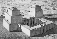 Aus: W. Andrae, Der Anu-Adad-Tempel in Assur (WVDOG 10), Leipzig 1909, Taf. 8.
