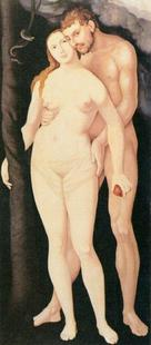 Abb. 1 Adam und Eva (Hans Baldung; 1538).