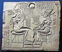 Aus: W. Brashear u.a., 1980, Belser Kunstbibliothek: Die Meisterwerke aus dem Ägyptischen Museum Berlin, Stuttgart / Zürich, 69