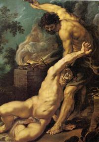 Abb. 1 Kain ermordet seinen Bruder (Rubens 1577-1640).