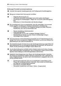 Bezirksregierung Detmold (Hg.), Lehrerfortbildung in der Region. Unterrichtsentwicklung im Berufskolleg. Band 1: Konzept, Detmold 2003, 20