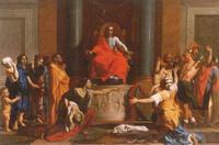 Abb. 5 Der weise König Salomo (1Kön 3,16ff; Nicolas Poussin; 1649).