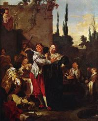 Liss, Der verlorene Sohn, 1624, Quelle: www.malerei-meisterwerke.de, Teil der Wikimedia Commons, gemeinfrei