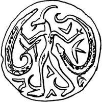 Aus: Keel, 1992a, 261, Abb. 269; © Stiftung BIBEL+ORIENT, Freiburg / Schweiz