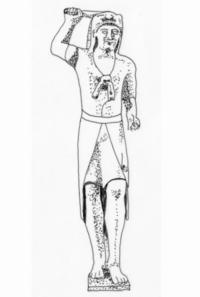 Zeichnung: B. Morstadt, nach Vassos Karageorghis, Greek Gods and Heroes in Ancient Cyprus (Athens 1998), 72 Abb. 29