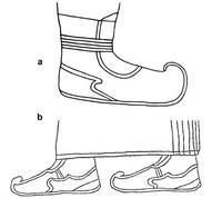 © Zeichnung E. Fischer (a) vgl. J.D. Hawkins, Corpus of Hieroglyphic Luwian Inscriptions I. Inscriptions of the Iron Age, Berlin / New York 2000, Taf. 294-295; (b) vgl. E. Akurgal, Späthethitische Bildkunst, Ankara 1949, 37 Abb. 21