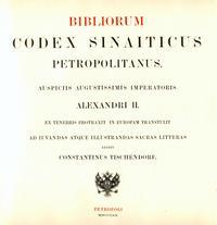 Abb. 9 Bibliorum Codex Petropolitanus (1861).