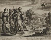 Abb. 2 Abraham verlässt seine Verwandtschaft (Gerard Jollain; 1670).