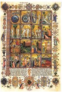 Abb. 1 Das Buch Genesis in Bildern (Hamilton-Bibel; 1345).