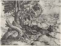 Quelle: http://www.zeno.org/Kunstwerke/B/Carracci,+Agostino%3A+Der+Unkraut+s%C3%A4endem+Teufel, Lizenz gemeinfrei